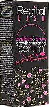 Parfumuri și produse cosmetice Ser pentru creșterea genelor și sprâncenelor - Regital Lash Eyelash & Brow Growth Stimulating Serum