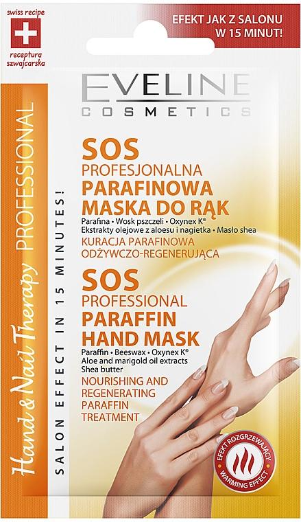 Mască de mâini cu parafină - Eveline Cosmetics Therapy