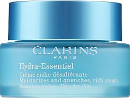 Parfumuri și produse cosmetice Cremă hidratantă pentru pielea uscată - Clarins Hydra-Essentiel Rich Cream