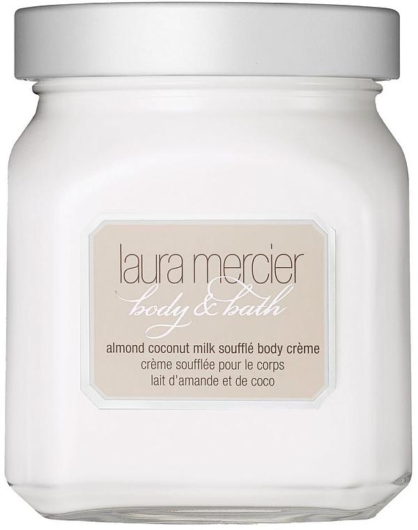 """Cremă de corp """"Migdale și lapte de cocos"""" - Laura Mercier Almond Coconut Milk Souffle Body Cream — Imagine N1"""