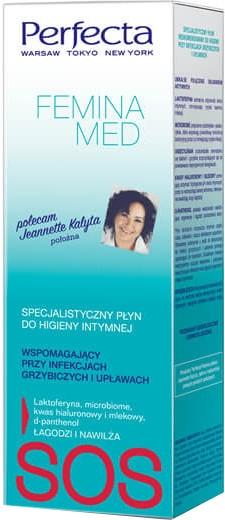 Soluție pentru ingiena intimă - Perfecta Femina Med SOS — Imagine N1