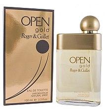 Parfumuri și produse cosmetice Roger & Gallet Open Gold - Apă de toaletă