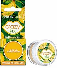 """Parfumuri și produse cosmetice Ulei pentru buze """"Banană"""" - Bielenda Crazy Kiss Banana Lip Butter"""