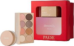 Parfumuri și produse cosmetice Set - Paese Selflove Set 2 (eyeshadow/12g + f/powder/10g)