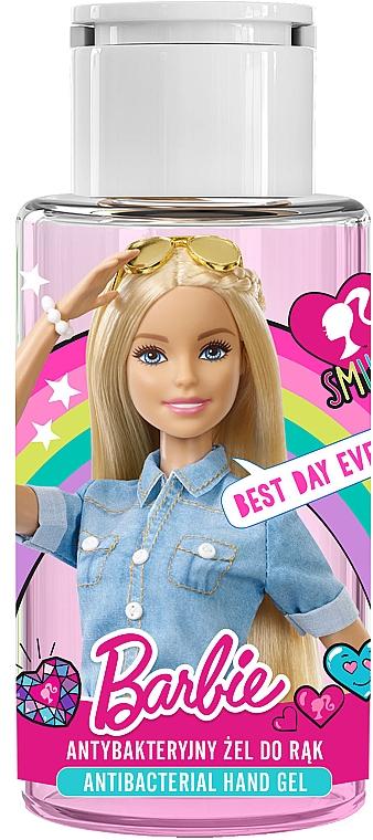 Gel antibacterian de mâini, pentru copii - Uroda Barbie Antibacterial Hand Gel