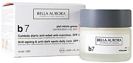 Parfumuri și produse cosmetice Cremă împotriva petelor pentru ten combinat și gras - Bella Aurora B7 Combination/Oily Skin Daily Anti-Dark Spot Care