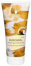 "Parfumuri și produse cosmetice Gel de duș ""Cocos"" - Bioturm Coconut Shower Gel No.74"