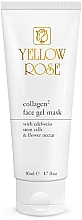 Parfumuri și produse cosmetice Mască-gel cu colagen pentru față - Yellow Rose Collagen2 Gel Mask