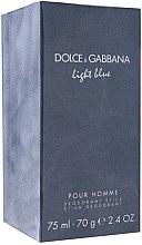 Parfumuri și produse cosmetice Dolce & Gabbana Light Blue Pour Homme - Deodorant stick