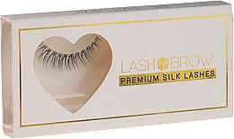 Parfumuri și produse cosmetice Gene false - Lash Brown Premium Silk Lashes Be Natural