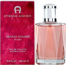 Parfumuri și produse cosmetice Etienne Aigner Private Number Women - Apă de toaletă