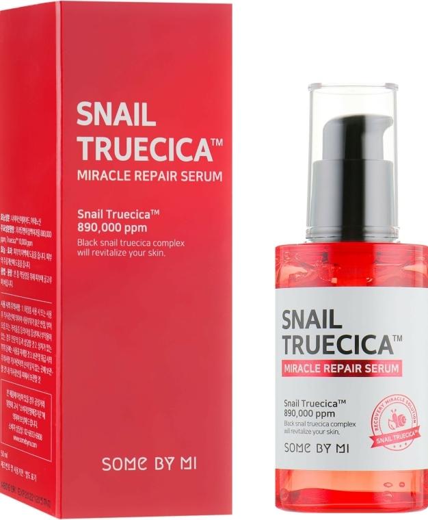 Ser regenerant cu mucină de melc negru - Some By Mi Snail Truecica Miracle Repair Serum