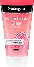 Parfumuri și produse cosmetice Scrub cu extract de grapefruit roz și vitamina C pentru față - Neutrogena Refreshingly Clear Daily Exfoliator