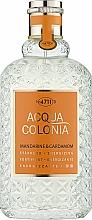 Parfumuri și produse cosmetice Maurer & Wirtz 4711 Acqua Colonia Mandarine & Cardamom - Apă de colonie