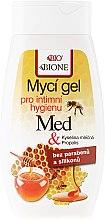 Parfumuri și produse cosmetice Gel pentru igiena intimă - Bione Cosmetics Honey + Q10 Propolis Intimate Wash Gel