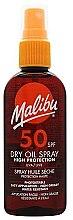 Parfumuri și produse cosmetice Ulei uscat de proteție solară pentru corp - Malibu Continuous Dry Oil Spray SPF 50