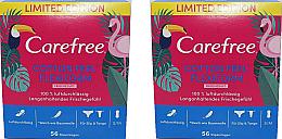 Parfumuri și produse cosmetice Absorbante de zi 2X56buc - Carefree Cotton Feel Flexiform