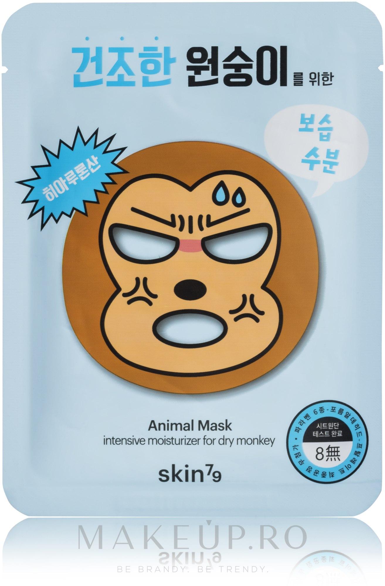 Mască folie pentru față - Skin79 Animal Mask For Dry Monkey — Imagine 23 g
