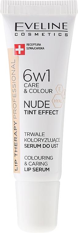Ser intensiv 6 în 1 pentru buze - Eveline Cosmetics Lip Therapy Proffesional Tint