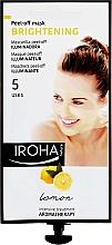 Parfumuri și produse cosmetice Mască de față - Iroha Nature Brightening Peel-Off Mask Lemon
