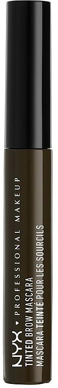 Gel pentru sprâncene - NYX Professional Makeup Tinted Eyebrow Mascara Gel