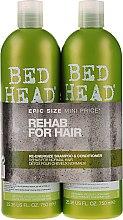 Parfumuri și produse cosmetice Set - Tigi Bed Head Rehab For Hair Kit (shm/750ml + cond/750ml)