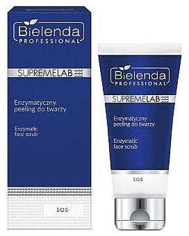 Scrub enzimatic pentru față - Bielenda Professional SupremeLab S.O.S — Imagine N1