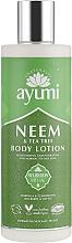 """Parfumuri și produse cosmetice Loțiune de corp """"Neem și arbore de ceai"""" - Ayumi Neem & Tea Tree Body Lotion"""