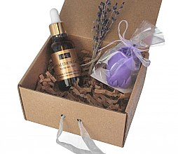 Parfumuri și produse cosmetice Set - LaQ Hyaluron (hyaluron/30ml+soap/40g)