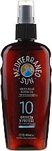 Parfumuri și produse cosmetice Ulei pentru brozat - Mediterraneo Sun Coconut Suntan Oil SPF10
