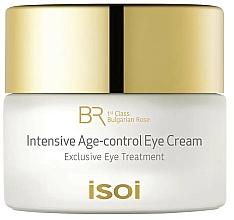 Parfumuri și produse cosmetice Cremă pentru zona ochilor - Isoi Bulgarian Rose Intensive Age Control Eye Cream