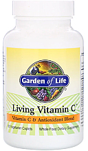 Parfumuri și produse cosmetice Vitamina C + antioxidanți, capsule - Garden of Life Living Vitamin C