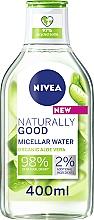 Parfumuri și produse cosmetice Apă micelară - Nivea Naturally Good Micellar Water Organic Aloe Vera