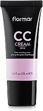Parfumuri și produse cosmetice CC cremă pentru mascarea cearcănelor - Flormar CC Cream Anti-Dark Circles