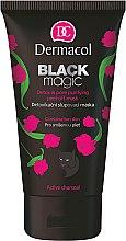 Parfumuri și produse cosmetice Mască-Spumă de față - Dermacol Black Magic Detox&Pore Purifying Peel-Off Mask