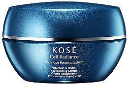 Parfumuri și produse cosmetice Cremă regenerantă și hidratantă pentru față - Kose Cell Radiance Cream Rice Power Extract