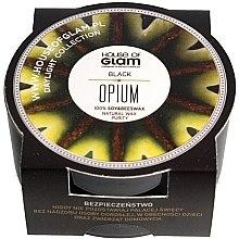 Parfumuri și produse cosmetice Lumânare aromată - House of Glam Black Opium Candle (mini)