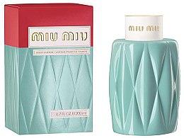 Parfumuri și produse cosmetice Miu Miu Miu Miu - Loțiune de corp