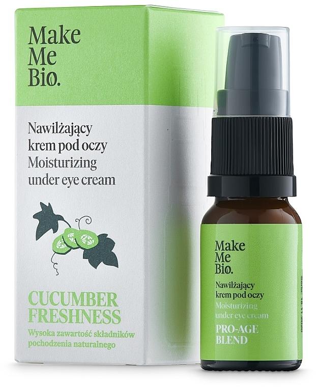 Cremă de ochi cu vitamina E și extract de castravete - Make Me BIO — Imagine N1