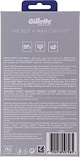 Set - Gillette MACH3 Premium (razor/1psc + blade/1pcs + stand) — Imagine N2
