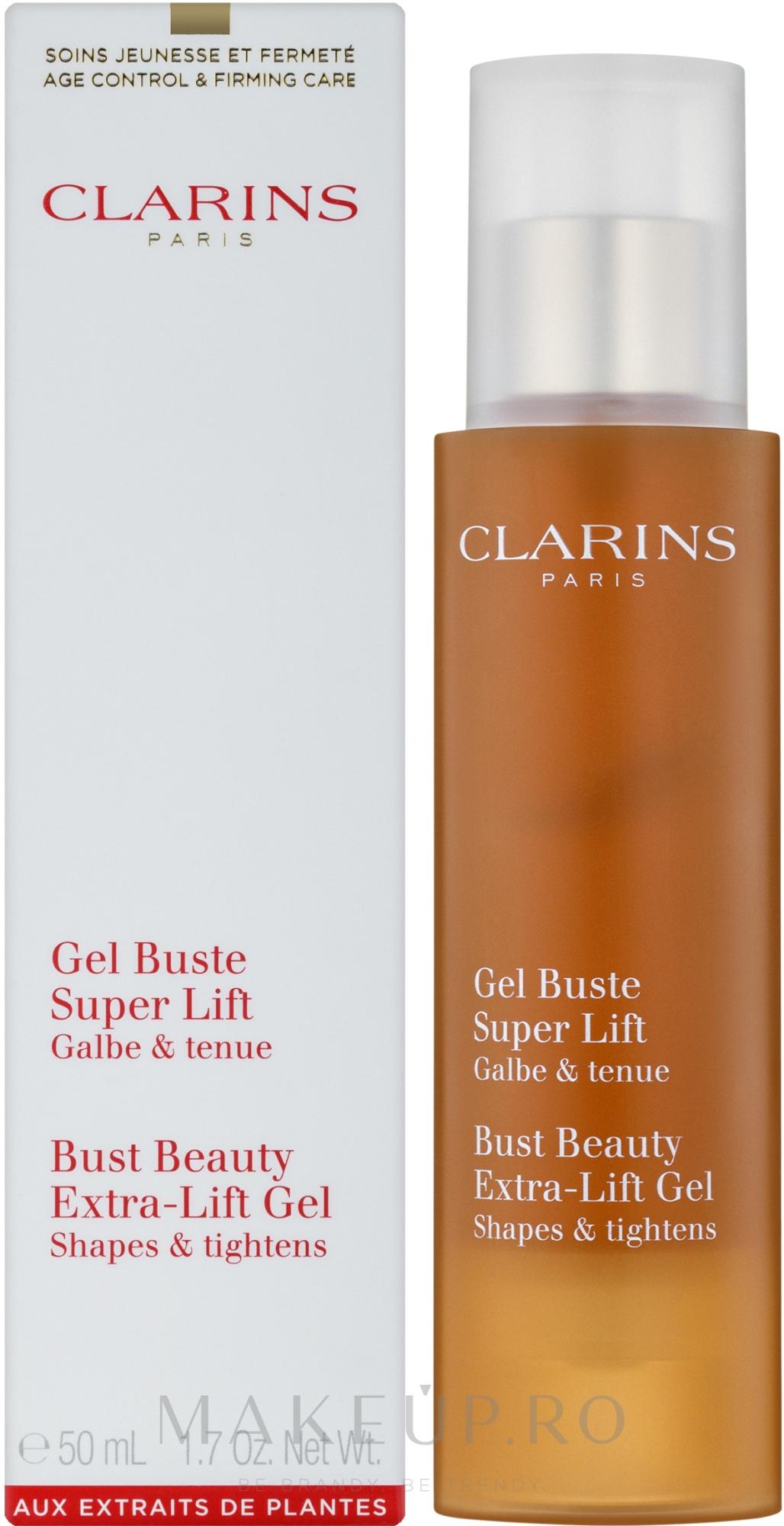 Gel pentru fermitatea sanilor - Clarins Bust Beauty Gel 50ml — Imagine 50 ml