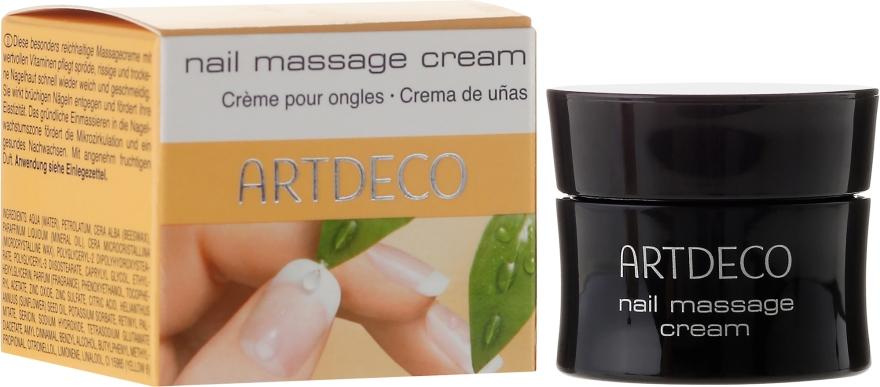 Cremă pentru cuticule - Artdeco Nail Massage Cream — Imagine N1