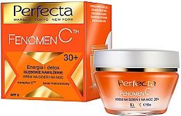 """Parfumuri și produse cosmetice Cremă de față intens hidratantă """"Energie și Detox"""" - Perfecta Fenomen C Cream 30+ SPF 6"""