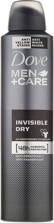 """Deodorant pentru bărbați """"Protecție și îngrijire împotriva urmelor albe"""" - Dove"""