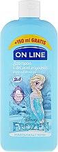 "Parfumuri și produse cosmetice Șampon-gel de duș ""Frozen"" - On Line Disney Frozen Shampoo & Body Wash"