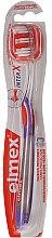 Parfumuri și produse cosmetice Periuță de dinți, purpuriu, 43613 - Elmex Toothbrush Caries Protection InterX Medium