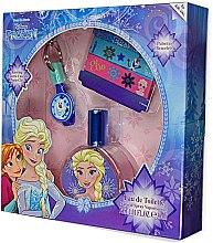 Parfumuri și produse cosmetice Air-Val International Disney Frozen - Set (edt/30ml + key/ring + 2/bracelets)