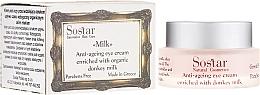 Parfumuri și produse cosmetice Cremă anti-îmbătrânire pentru zona ochilor - Sostar Anti-Aging Eye Cream Enriched With Donkey Milk