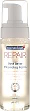 Parfumuri și produse cosmetice Spumă de curățare pentru față și corp, după proceduri medicale estetice - Novaclear Repair Post Laser Cleansing Foam