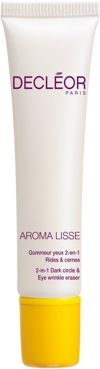 Crema pentru pleoape - Decleor Aroma Lisse 2-in-1 Dark Circle & Eye Wrinkle Eraser — Imagine N1